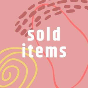 items below this post are sold!